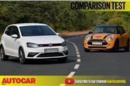 Mini Cooper S vs Volkswagen Polo GTI video comparison