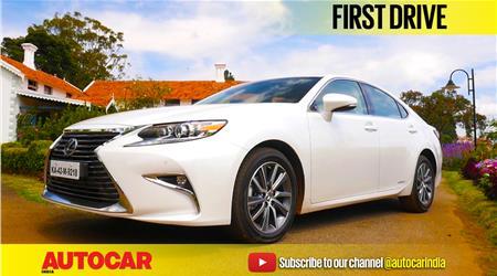 2017 Lexus ES300h video review
