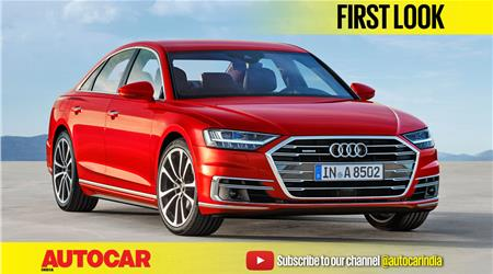 New 2017 Audi A8 first look video