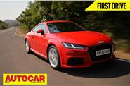 2015 Audi TT India video review