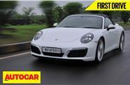 2016 Porsche 911 Carerra S India video review
