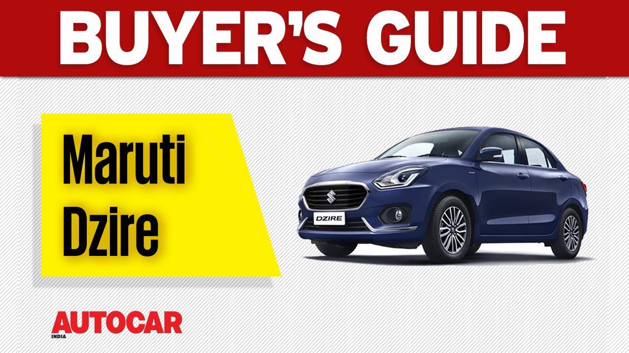Buyer's guide: New Maruti Dzire video