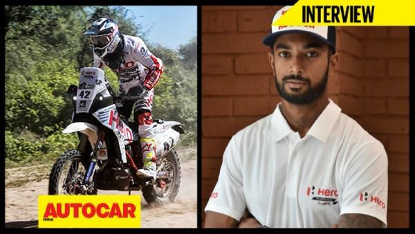 CS Santosh talks about the 2017 Dakar Rally