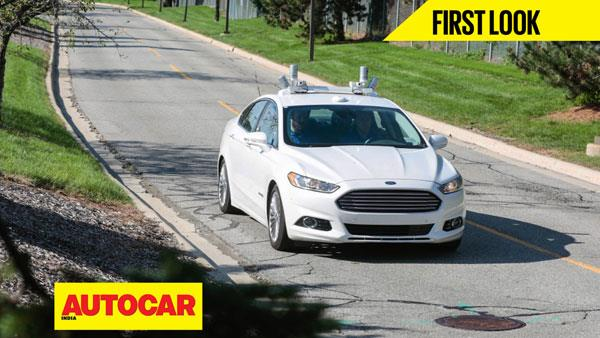 Ford Fusion autonomous vehicle first look video