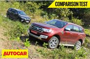2017 Toyota Fortuner vs Ford Endeavour comparison video