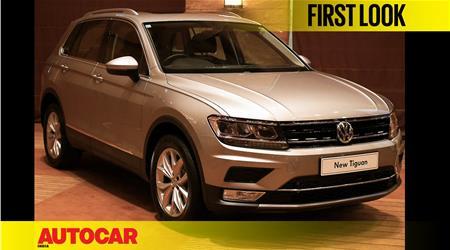2017 Volkswagen Tiguan first look video