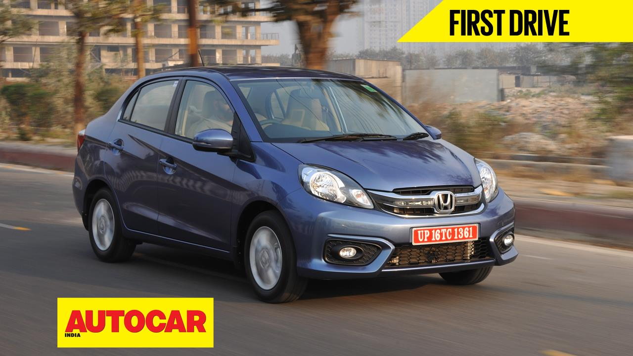 Honda Amaze facelift video review