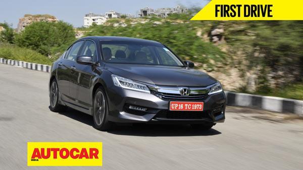 2016 Honda Accord Hybrid video review