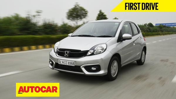 2016 Honda Brio video review