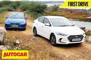 2016 Hyundai Elantra India video review