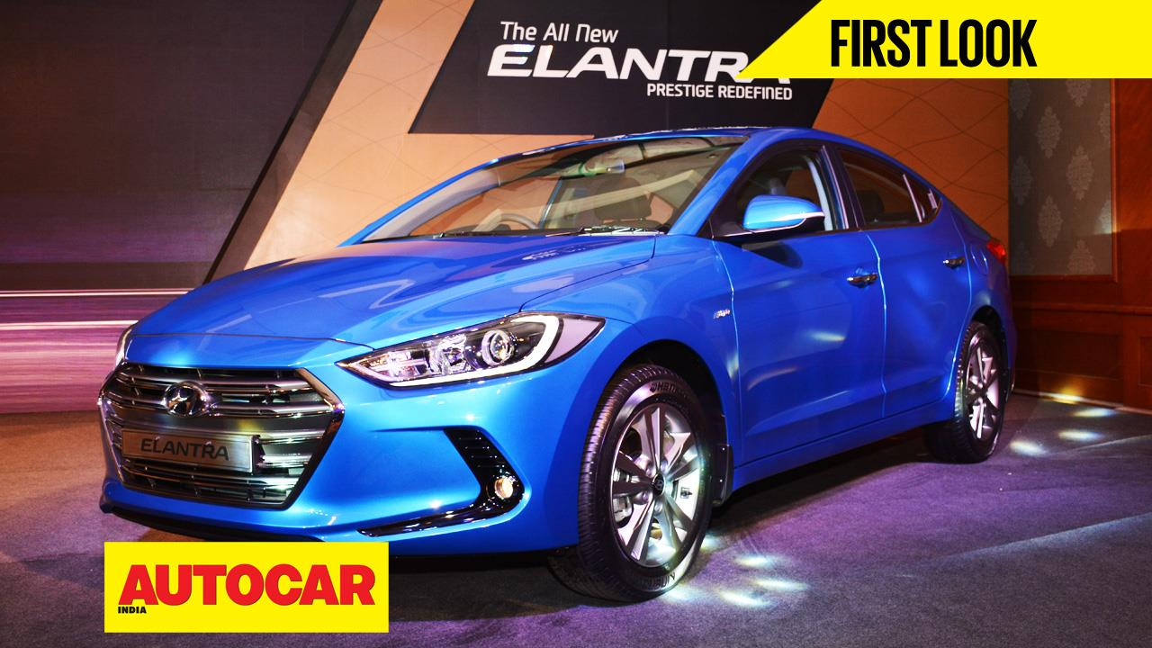 New Hyundai Elantra first look video