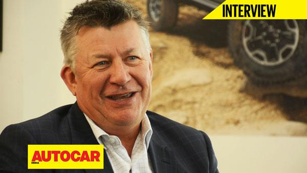Jeep India's Kevin Flynn talks about the brand's road map for India