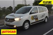 Renault Lodgy Mileage Challenge video