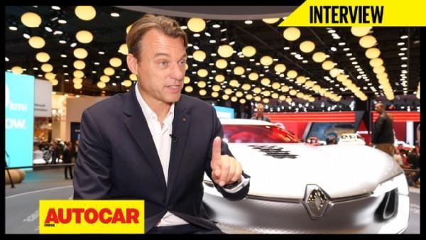 Laurens Van Den Aecker talks about Renault's design language