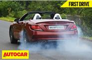 Mercedes-AMG SLC 43 video review