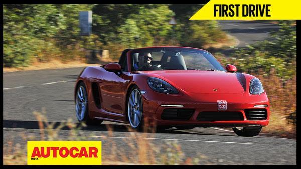 2017 Porsche 718 Boxster video review