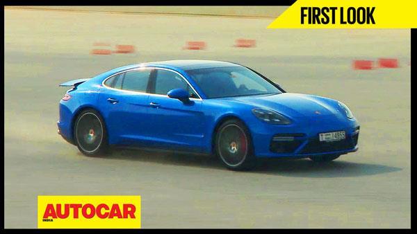 2017 Porsche Panamera Turbo first look video