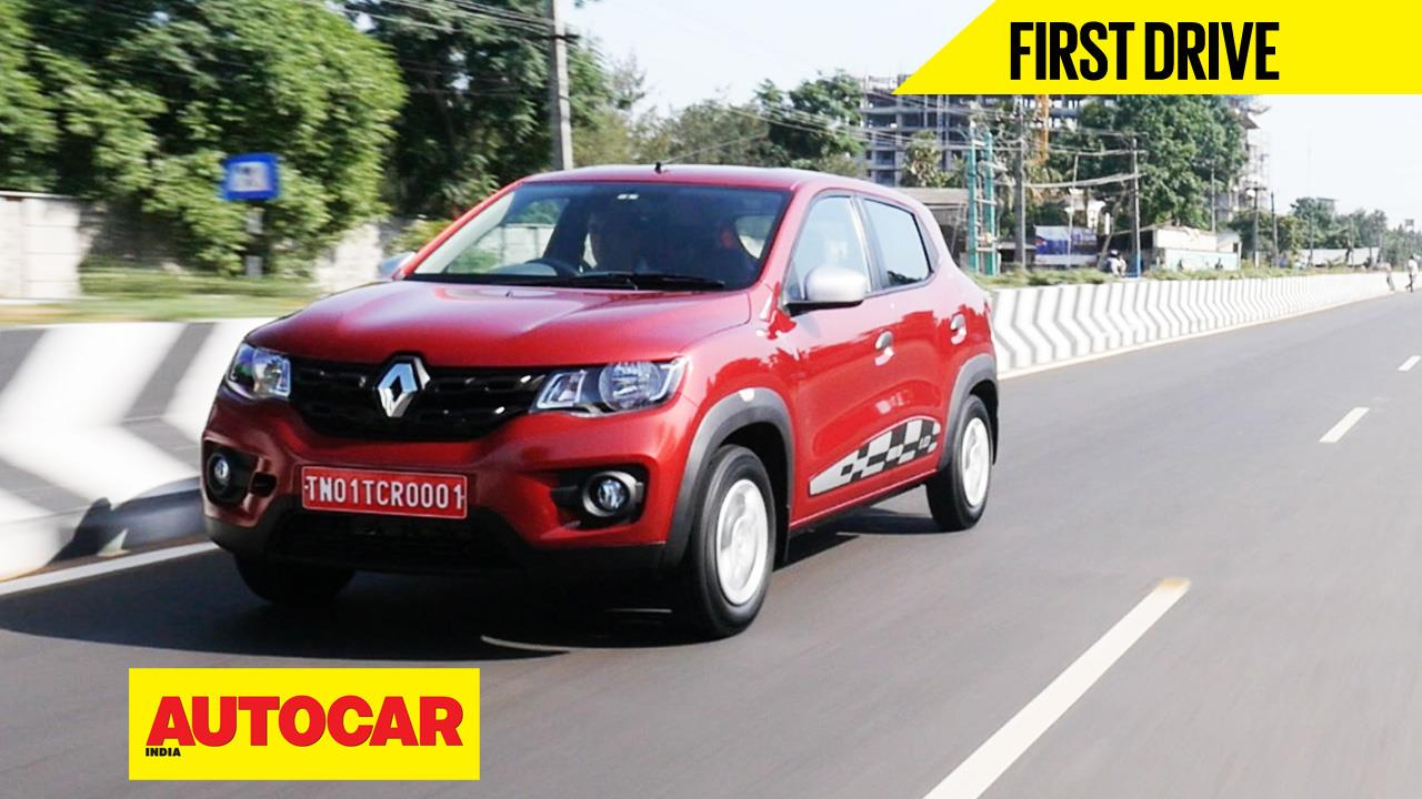 Renault Kwid 1.0 video review