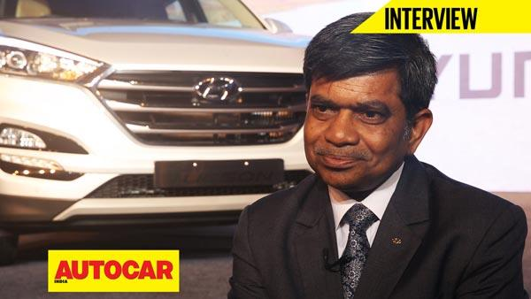 Mr Rakesh Srivastava talks about the new Hyundai Tucson