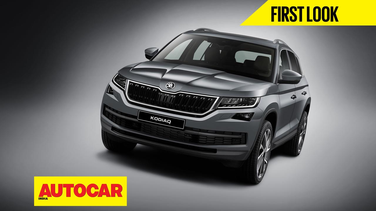 Skoda Kodiaq first look video