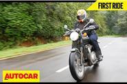 Triumph Bonneville T120 India video review