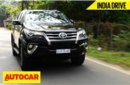 2016 Toyota Fortuner India video review