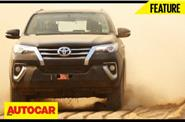 New Toyota Fortuner Experiential Drive video