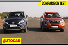 Tata Hexa vs Mahindra XUV500 video comparison