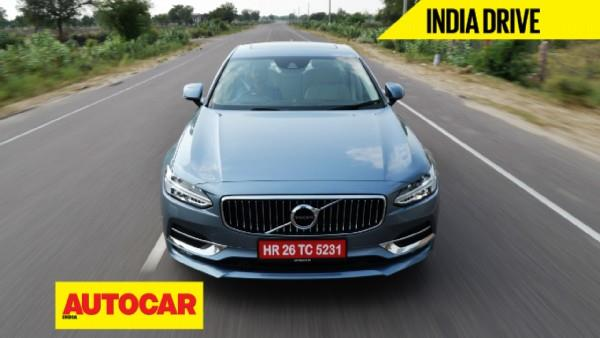 2016 Volvo S90 D4 video review