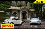 The Beatles ashram with the Beetles video feature