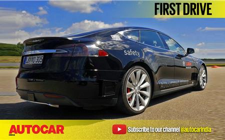 Bosch Autonomous Tesla video