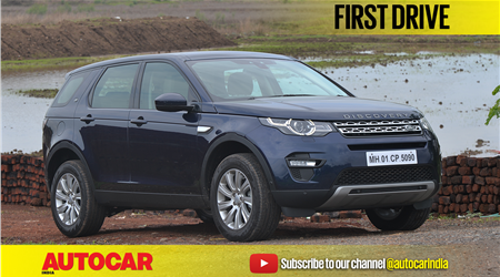 2017 Land Rover Discovery Sport 2.0 diesel video review