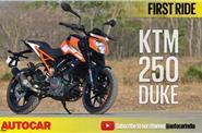 2017 KTM Duke 250 video review