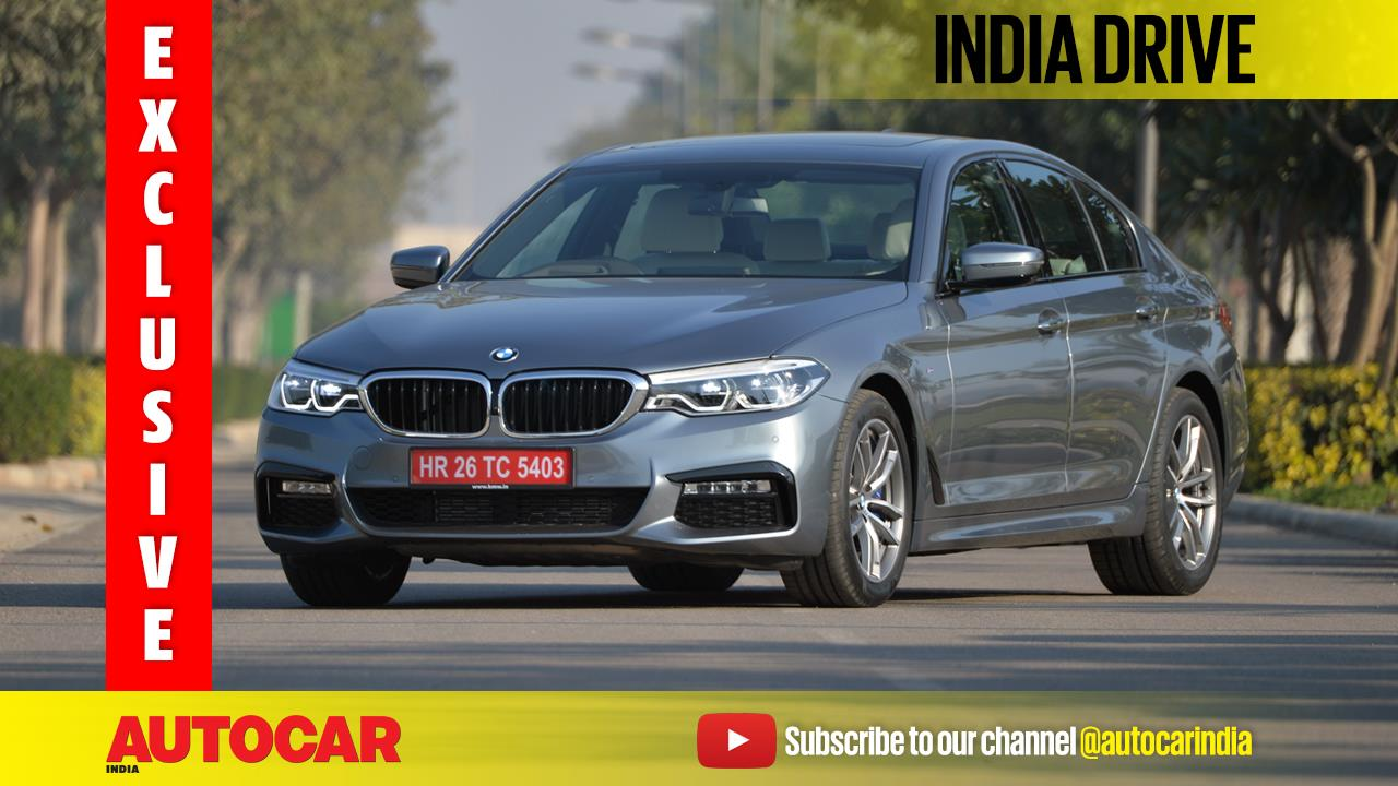 2017 BMW 5-series India video review