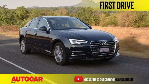2017 Audi A4 35 TDI video review