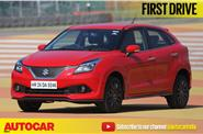 Maruti Baleno RS video review