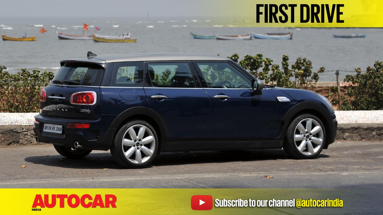 2017 Mini Clubman video review