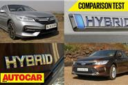 Honda Accord Hybrid vs Toyota Camry Hybrid video comparison