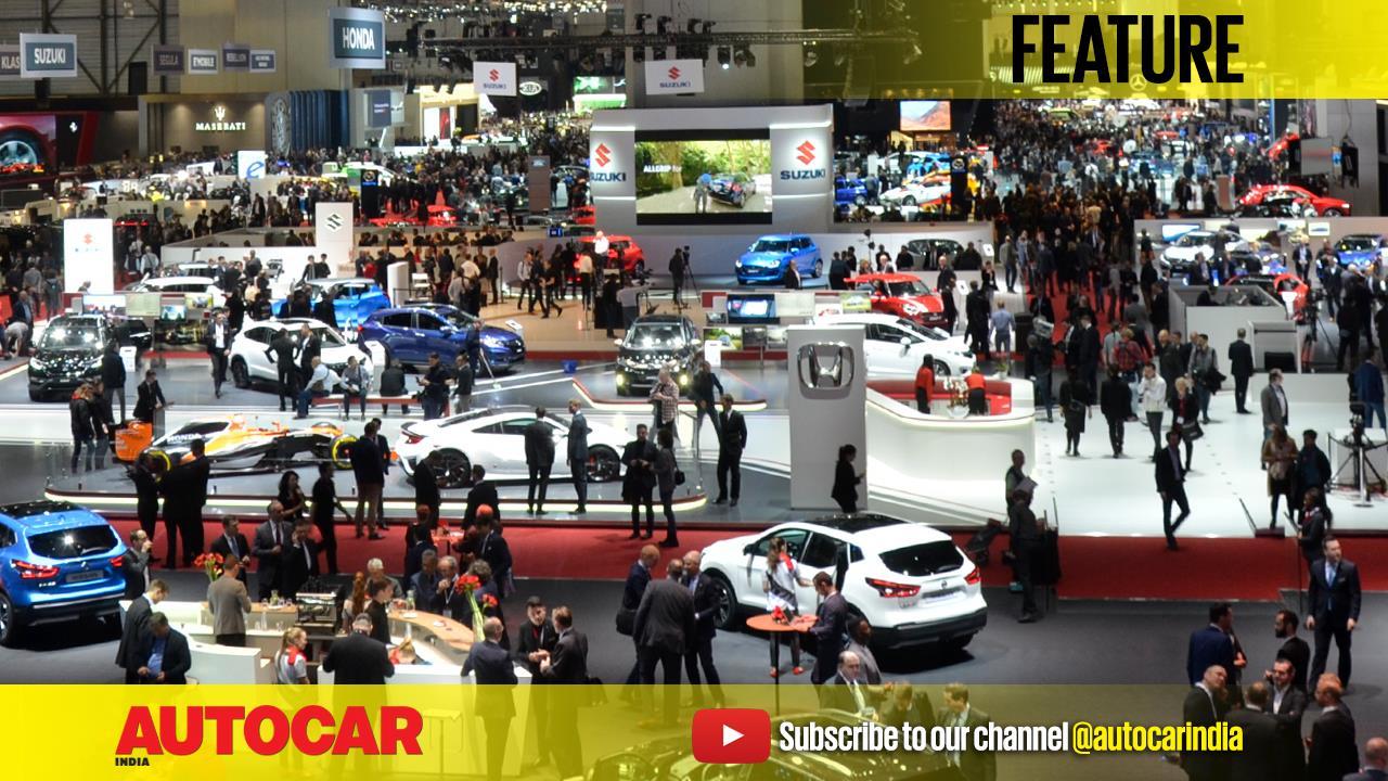 2017 Geneva motor show video