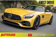 2017 Mercedes-AMG GT C Roadster video review