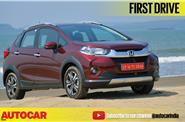 2017 Honda WR-V video review