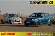 Hyundai Grand i10 facelift vs Maruti Ignis video comparison