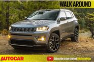 Jeep Compass walkaround video from Geneva motor show