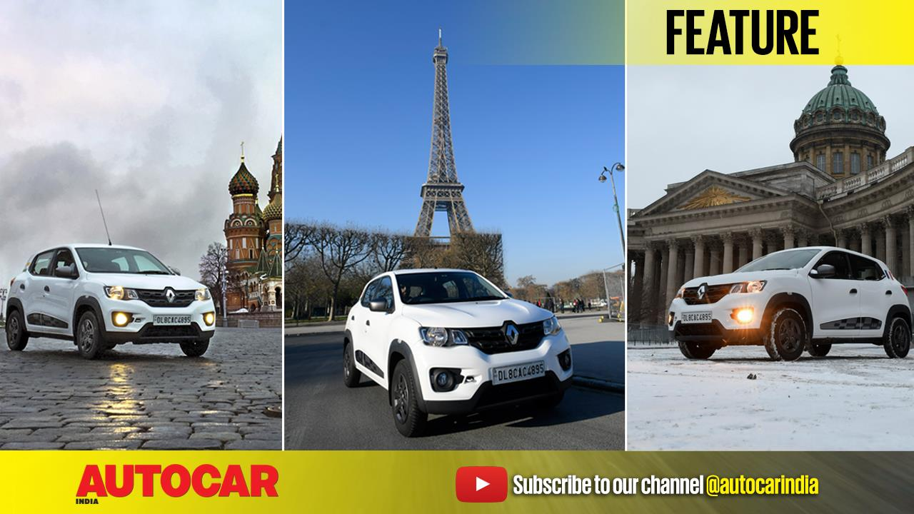 Delhi to Paris in a Renault Kwid episode 2