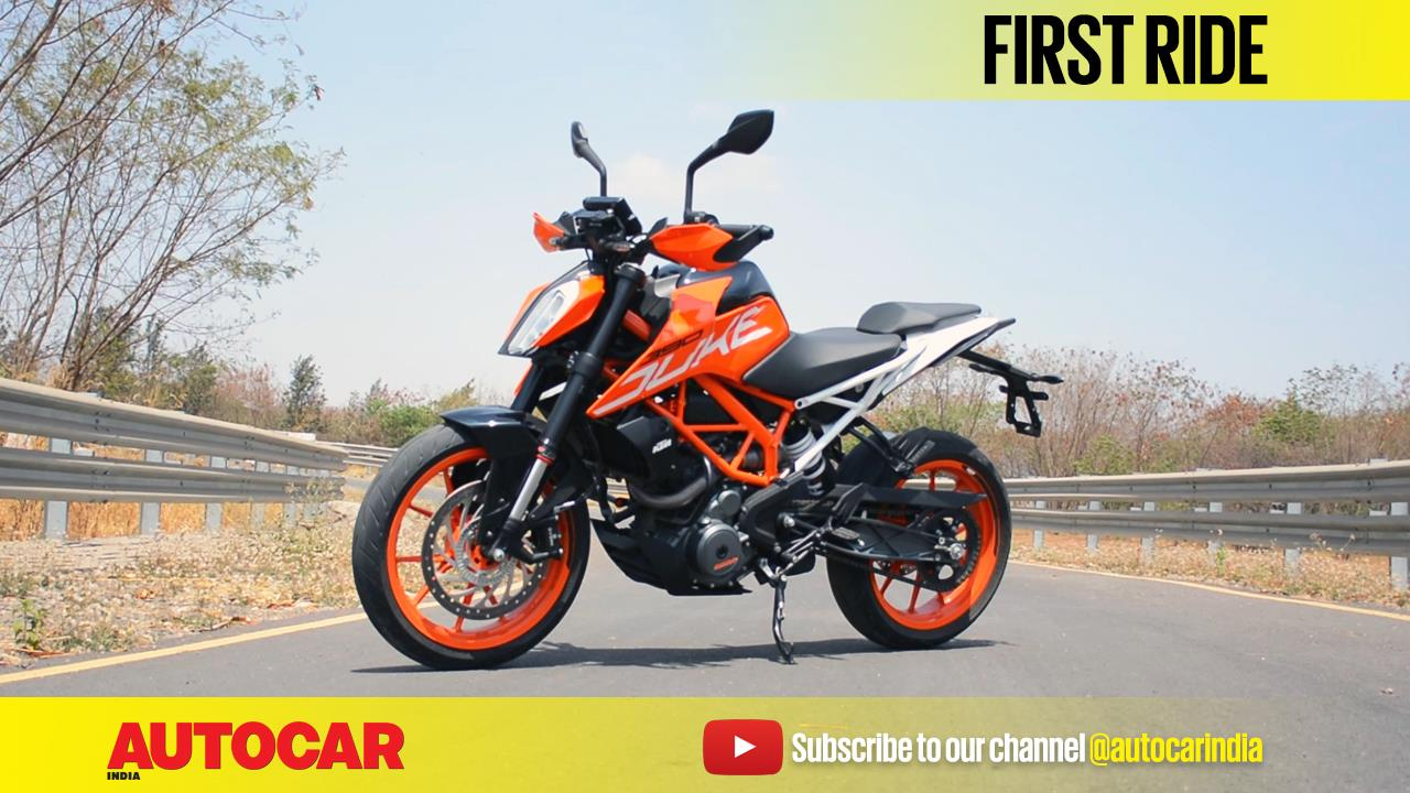 2017 KTM 390 Duke video review