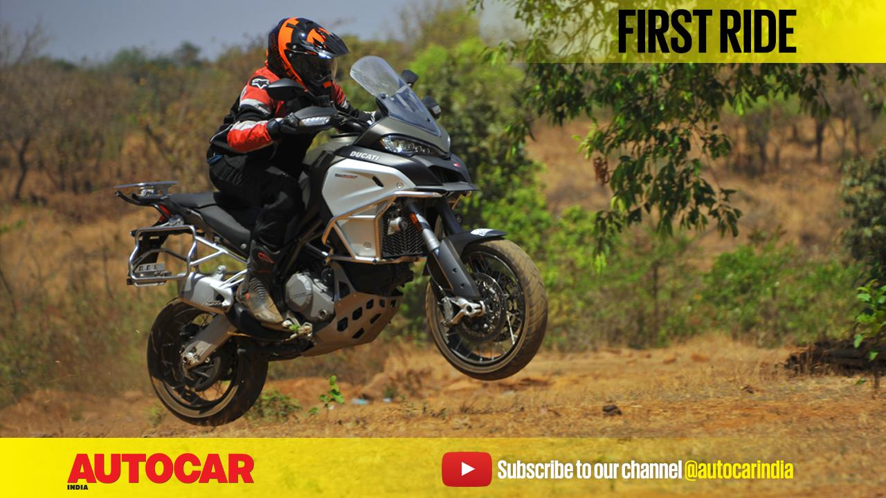 Ducati Multistrada 1200 Enduro video review