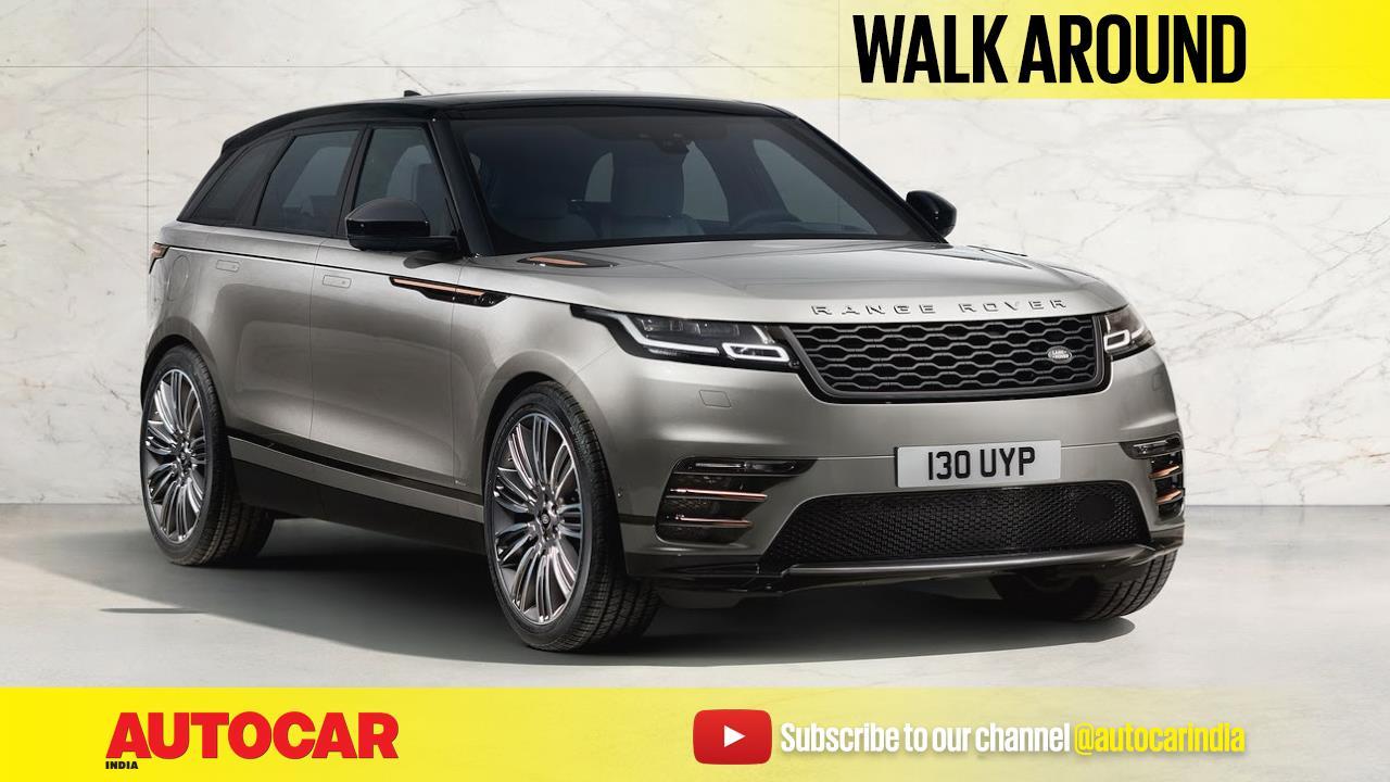 Range Rover Velar walkaround video