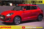 New Suzuki Swift first look video from Geneva