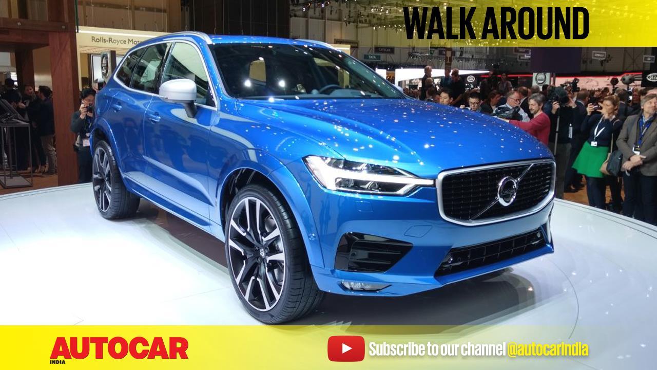 New Volvo XC60 SUV walkaround video