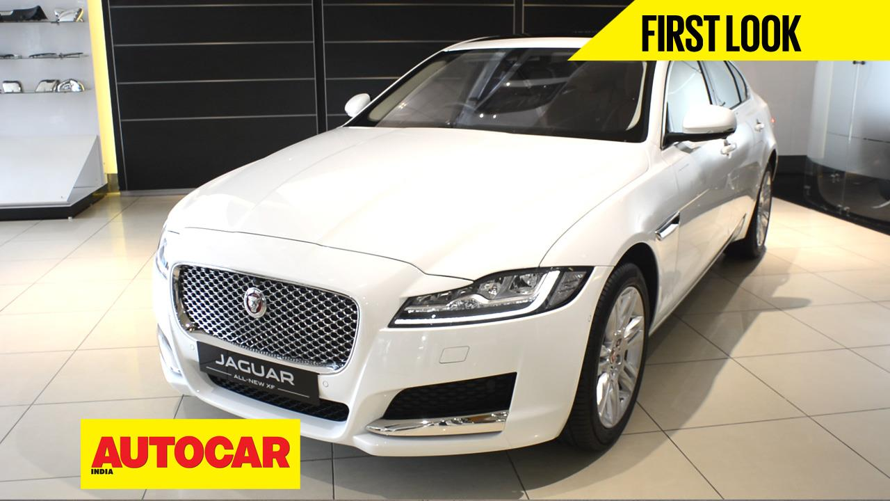 New Jaguar XF first look video